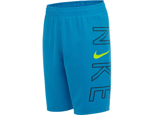 "Nike Swim Logo 8"" Volley Shorts Boys, niebieski"